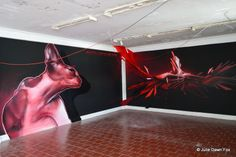Indoor and Outdoor Street Art in Porto, Portugal - by Julie Dawn Fox 16.05.2014