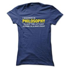 PHILOSOPHY MAJOR - #mothers day gift #hoodie womens. CHEAP PRICE => https://www.sunfrog.com/Funny/PHILOSOPHY-MAJOR-Ladies.html?id=60505