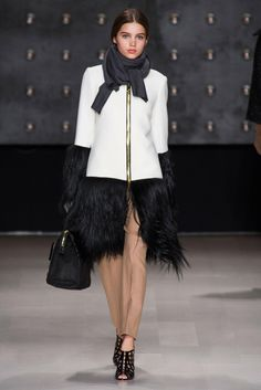 Penguin walking...This is fresh. Milly, Look 11 - The Cut
