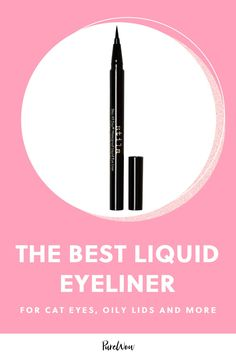 The Best Liquid Eyeliner for a Cat Eye, Oily Lids and Everything In-Between #purewow #sephora #beauty #makeup #eyeliner #shopping #eyes Eyeliner Tattoo, Eyeliner Pen, Winged Eyeliner, Liquid Eyeliner Best, Perfect Eyeliner, Urban Decay Heavy Metal, Eyeliner Techniques, Date Night Makeup, Eyeliner For Beginners