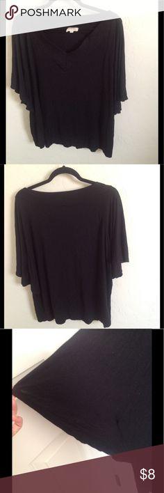 Woman's Plus Size Blouse Cool, Casual & Comfortable. Bat wings. Tops Blouses