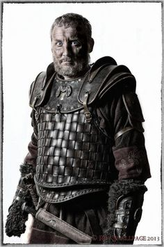 Bull, Ard Righ (High King) of the Dumnonii, from the Dumnonii Chronicles LARP in the UK.