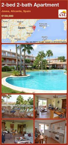 2-bed 2-bath Apartment in Javea, Alicante, Spain ►€159,000 #PropertyForSaleInSpain