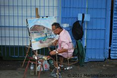 My mom and I took the water taxi in Trinidad and Tobago, from Port Of Spain to San Fernando and there we saw this artist doing his thing. Port Of Spain, Catamaran, Love Photography, Taxi, Trinidad And Tobago, My Photos, Water, Artist, Mom