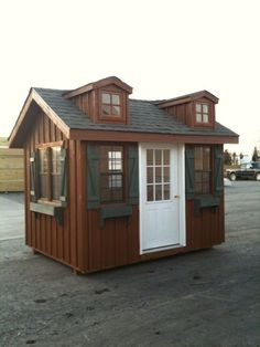 8x12 Garden Shed - Wood-Tex Products