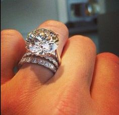 Whoa! Love this engagement ring!