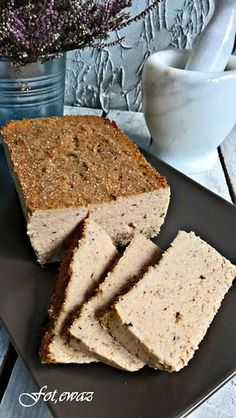 Ewa w kuchni: Pasztet z królika i łopatki Calzone, Cornbread, Sausage, Food And Drink, Meat, Dinner, Ethnic Recipes, Food And Drinks, Millet Bread