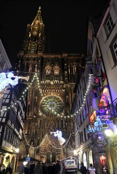 Christmas in Strasbourg, France - markets, canals, beautiful houses, and all round charm