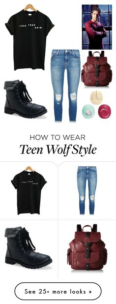 """""""Scott Mccall"""" by boston-c on Polyvore featuring J Brand, Aéropostale, Eos, Kenneth Cole Reaction, women's clothing, women's fashion, women, female, woman and misses"""