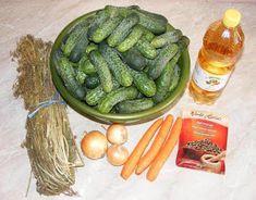 Castraveti in otet ingrediente Pickles, Cucumber, Food, Eten, Pickle, Pickling, Cauliflower, Meals, Zucchini
