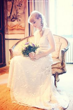 Wedding in the South of France - Abbaye Chateau de Camon photographed by Floriane Caux www.florianecaux.com  #wedding #dress #lace #bouquet #bride #love