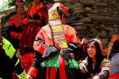 Kalash women in Pakistan Kalash People, Alexander The Great, Ancient Greece, Headdress, Mythology, Pakistan, Religion, Women Wear, Culture