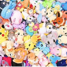 A pile of pokemon with @pokesphere!    What are some features you would like in the next pokemon go update?  #pokemon #pokemongo #pokemoncenter #pikachu #nintendo #anime #cute #kawaii #pokeball #pokémon #charmander #charizard #gameboy #eevee #pkmn #squirtle #videogames #mew #bulbasaur #gaming #awesome #nerd #gamefreak #plushie #toy #love #toys #plush #gift #japan