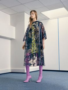 Dior Haute Couture coat dress boots