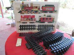 Musical Express Christmas Train SET W Extra Track Unused | eBay