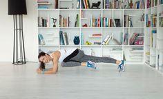 Vier Übungen, mit denen man sowohl Muskeln aufbaut wie auch Kalorien verbrennt.