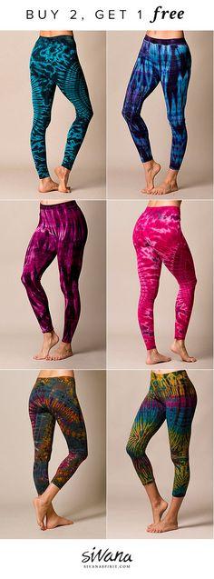 7ae0ce95a9 Buy 2 tie dye items, get 1 free! www.sivanaspirit.com Workout