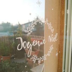 Je décore mes vitres pour Noël ! - Arborescence