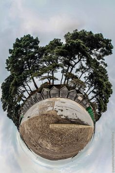 Little Planets: My Hyper-Unreal Stereographic Projections | Bored Panda