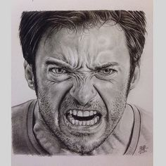 Realistic Angry Face Drawing | Displaying (17) Gallery Images For Angry…