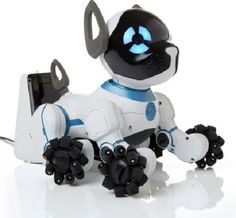 ELECTRONIC DOG ROBOT TOY WEARABLE SMART BAND FOR OWNER RECOGNITION RECHARGE CHIP #WOWWEE