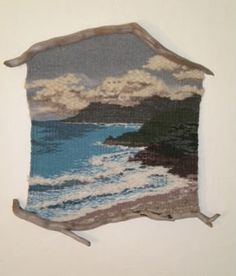 Wood 'n I Weavings : Thalia Truesdell Inkle Weaving, Weaving Art, Tapestry Weaving, Peg Loom, Felt Pictures, Weaving Textiles, Thread Painting, Yarn Bombing, Weaving Projects