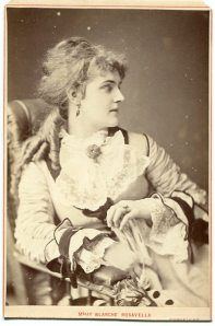 Cabinet photograph of Blanche Roosevelt (aka Blanche Rosavella), by The London Stereoscopic & Photographic Company, c.1875