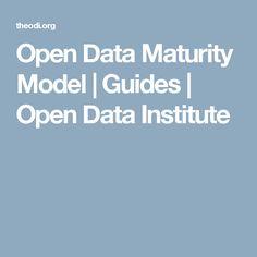 Open Data Maturity Model | Guides | Open Data Institute