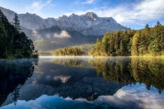 Summer Morning (Eibsee, Germany) by Daniel F. on 500px E