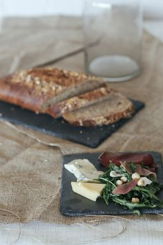 Handcrafted Slate Tapas Plate $14.95 by Annabell Stone, available online at www.annabellstone.com.au . Photography by Elise Hassey