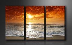 PAISAJE 3 Piece Canvas Art, 3 Piece Art, Canvas Wall Art, Hallway Pictures, Canvas Pictures, Acrylic Canvas, Diy Canvas, Multiple Canvas Paintings, Wall Prints