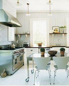 Kitchen......industrial....white