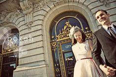 San Francisco City Hall Wedding bokehphotography.info