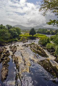 Sneem river - Sneem, Kerry, Ireland