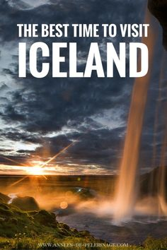 Winter or Summer? When is the best time to visit Iceland. This guide explores all the advantages and disadvantages of the different seasons in Iceland.