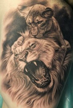 LIONS - XAVI TATTOOS - TATUAJES EN VALENCIA