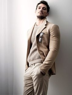 beautiful light color combination-David Gandy
