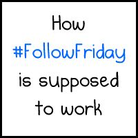 How #FollowFriday is SUPPOSED to work - The Oatmeal
