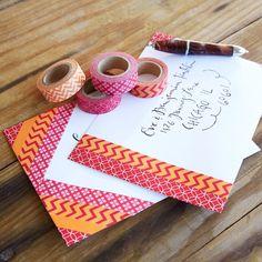 Washi Tape Decorated Envelopes Diy Envelope, Envelope Design, Envelope Addressing, Mail Art Envelopes, Fancy Envelopes, Handmade Envelopes, Snail Mail Pen Pals, Snail Mail Gifts, Blog Art