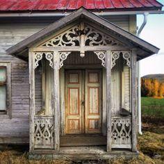 Abandoned house in Sweden