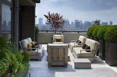 Carnegie hall penthouse . Robin Key Landscape Architecture - Landscape Design - New York
