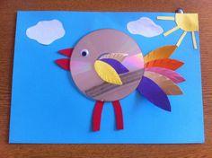 Ptaki z płyt CD