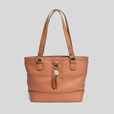 Image for TH SIGNATURE PEBBLE LEATHER SMALL TOTE from Tommy Hilfiger USA