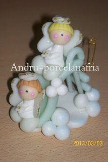 Andru Porcelana Fría: Souvenir Bautismo