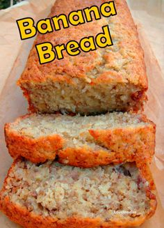 Moist Banana Bread. Great flavors and easy to follow instructions. And yummy of course!