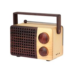 Magno - Wooden Radio