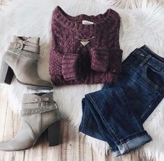 This is a cute outfit minus the shoes in my opinion Cold Day Outfits, Outfits Otoño, Fall Winter Outfits, Stylish Outfits, Autumn Winter Fashion, Fashion Outfits, Womens Fashion, Outfit Invierno, Cold Weather Fashion
