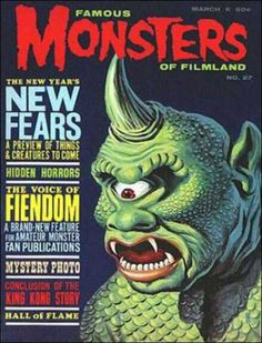 The Cyclops makes the cover of Famous Monsters of Filmland # 27