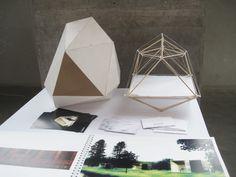 LYHTY, a tent-like structure by Helsinki-based designer Erkko Aarti.
