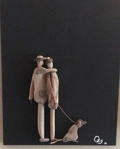 Pebble Pictures, Stone Pictures, Driftwood Beach, Driftwood Art, Sea Crafts, Nature Crafts, Driftwood Sculpture, Sculpture Art, Driftwood Projects